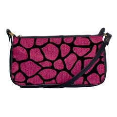 Skin1 Black Marble & Pink Denim (r) Shoulder Clutch Bags by trendistuff