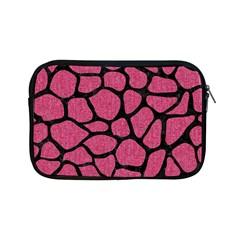 Skin1 Black Marble & Pink Denim (r) Apple Ipad Mini Zipper Cases by trendistuff