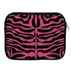 Skin2 Black Marble & Pink Denim (r) Apple Ipad 2/3/4 Zipper Cases by trendistuff