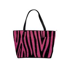 Skin4 Black Marble & Pink Denim Shoulder Handbags by trendistuff
