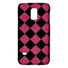 Square2 Black Marble & Pink Denim Galaxy S5 Mini by trendistuff