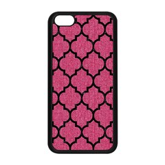 Tile1 Black Marble & Pink Denim Apple Iphone 5c Seamless Case (black) by trendistuff