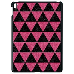 Triangle3 Black Marble & Pink Denim Apple Ipad Pro 9 7   Black Seamless Case by trendistuff