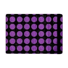 Circles1 Black Marble & Purple Denim (r) Apple Ipad Mini Flip Case by trendistuff