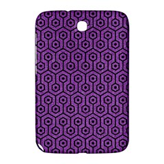 Hexagon1 Black Marble & Purple Denim Samsung Galaxy Note 8 0 N5100 Hardshell Case  by trendistuff