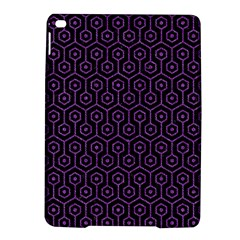Hexagon1 Black Marble & Purple Denim (r) Ipad Air 2 Hardshell Cases by trendistuff