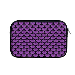 Scales3 Black Marble & Purple Denim Apple Macbook Pro 13  Zipper Case by trendistuff