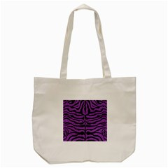 Skin2 Black Marble & Purple Denim Tote Bag (cream) by trendistuff