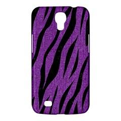 Skin3 Black Marble & Purple Denim Samsung Galaxy Mega 6 3  I9200 Hardshell Case by trendistuff