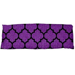 Tile1 Black Marble & Purple Denim Body Pillow Case Dakimakura (two Sides) by trendistuff