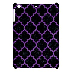 Tile1 Black Marble & Purple Denim (r) Apple Ipad Mini Hardshell Case by trendistuff