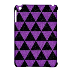 Triangle3 Black Marble & Purple Denim Apple Ipad Mini Hardshell Case (compatible With Smart Cover) by trendistuff