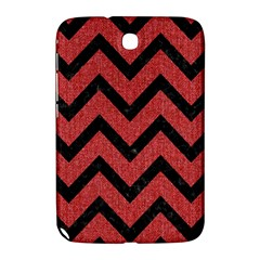 Chevron9 Black Marble & Red Denim Samsung Galaxy Note 8 0 N5100 Hardshell Case  by trendistuff