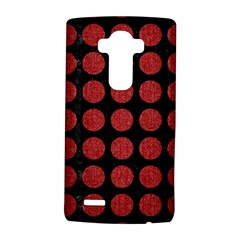 Circles1 Black Marble & Red Denim (r) Lg G4 Hardshell Case by trendistuff