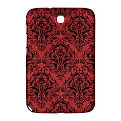 Damask1 Black Marble & Red Denim Samsung Galaxy Note 8 0 N5100 Hardshell Case  by trendistuff