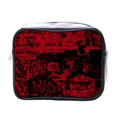Graffiti Mini Toiletries Bags by ValentinaDesign