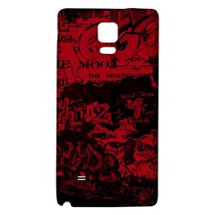 Graffiti Galaxy Note 4 Back Case by ValentinaDesign