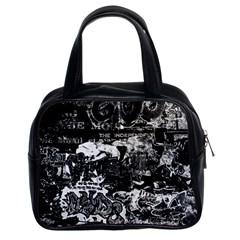 Graffiti Classic Handbags (2 Sides) by ValentinaDesign