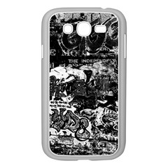 Graffiti Samsung Galaxy Grand Duos I9082 Case (white) by ValentinaDesign