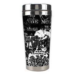 Graffiti Stainless Steel Travel Tumblers by ValentinaDesign