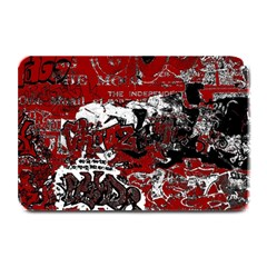 Graffiti Plate Mats by ValentinaDesign