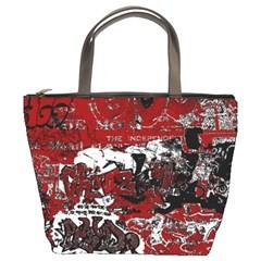 Graffiti Bucket Bags by ValentinaDesign