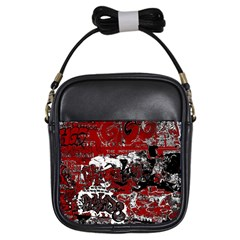 Graffiti Girls Sling Bags by ValentinaDesign