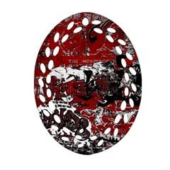 Graffiti Ornament (oval Filigree) by ValentinaDesign