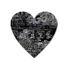 Graffiti Heart Magnet by ValentinaDesign