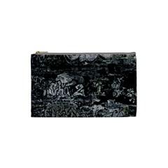 Graffiti Cosmetic Bag (small)  by ValentinaDesign
