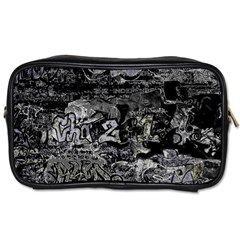 Graffiti Toiletries Bags 2 Side by ValentinaDesign