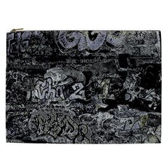 Graffiti Cosmetic Bag (xxl)  by ValentinaDesign