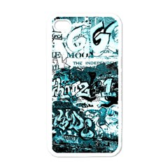 Graffiti Apple Iphone 4 Case (white) by ValentinaDesign