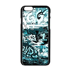 Graffiti Apple Iphone 6/6s Black Enamel Case by ValentinaDesign
