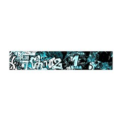 Graffiti Flano Scarf (mini) by ValentinaDesign
