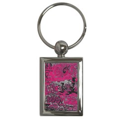 Graffiti Key Chains (rectangle)  by ValentinaDesign