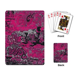 Graffiti Playing Card by ValentinaDesign