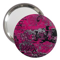 Graffiti 3  Handbag Mirrors by ValentinaDesign