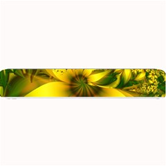 Beautiful Yellow Green Meadow Of Daffodil Flowers Small Bar Mats by beautifulfractals