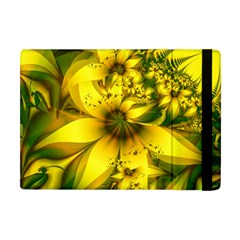 Beautiful Yellow Green Meadow Of Daffodil Flowers Apple Ipad Mini Flip Case by jayaprime