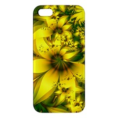Beautiful Yellow Green Meadow Of Daffodil Flowers Apple Iphone 5 Premium Hardshell Case by jayaprime