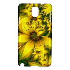 Beautiful Yellow Green Meadow Of Daffodil Flowers Samsung Galaxy Note 3 N9005 Hardshell Case by beautifulfractals