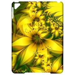 Beautiful Yellow Green Meadow Of Daffodil Flowers Apple Ipad Pro 9 7   Hardshell Case by jayaprime