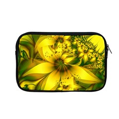 Beautiful Yellow Green Meadow Of Daffodil Flowers Apple Macbook Pro 13  Zipper Case by jayaprime
