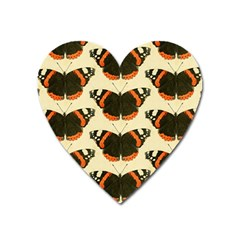 Butterfly Butterflies Insects Heart Magnet by Celenk