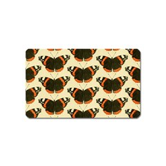 Butterfly Butterflies Insects Magnet (name Card) by Celenk