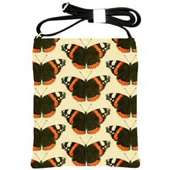 Butterfly Butterflies Insects Shoulder Sling Bags by Celenk