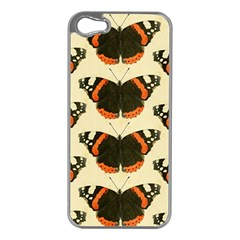 Butterfly Butterflies Insects Apple Iphone 5 Case (silver) by Celenk