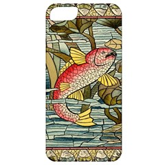Fish Underwater Cubism Mosaic Apple Iphone 5 Classic Hardshell Case by Celenk