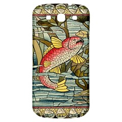 Fish Underwater Cubism Mosaic Samsung Galaxy S3 S Iii Classic Hardshell Back Case by Celenk